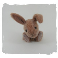 Dusty pink rabbit