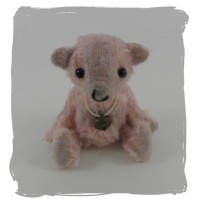 Edith pink miniature bear