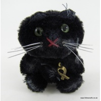 WW1 mohair black cat