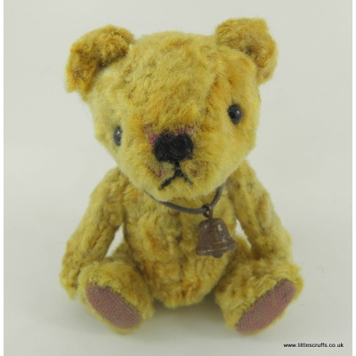 Pash miniature gold bear