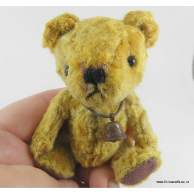 pasha mini gold bear