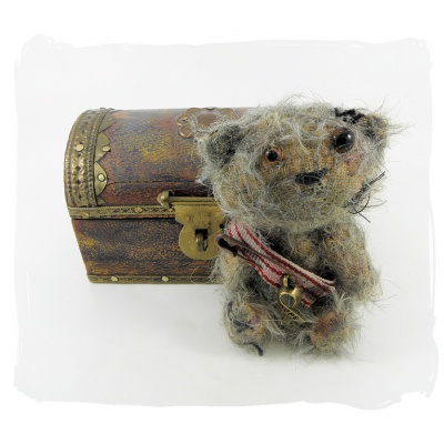 Greensit a WW1 Soldier bear replica