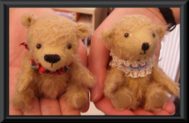 Paula and Amy's finished bears